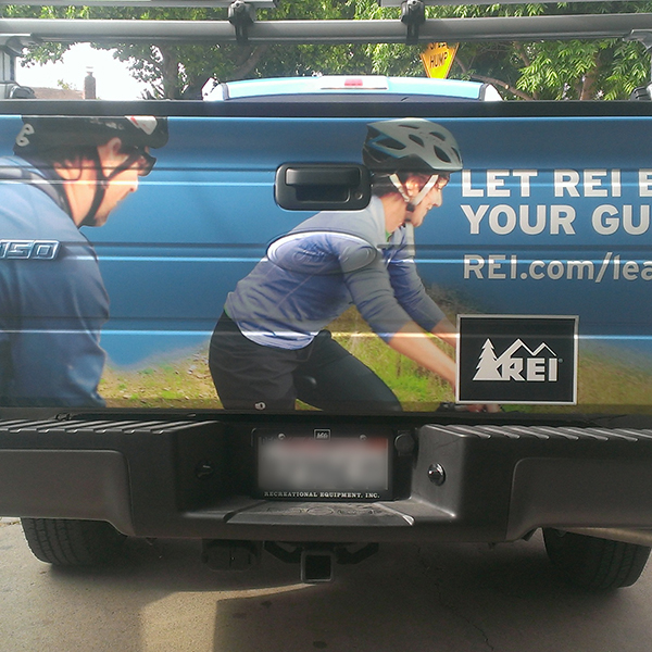 REI Vehicle Wrap