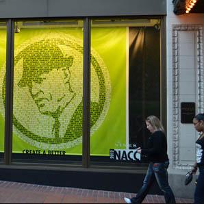 Nike Green Banner Man